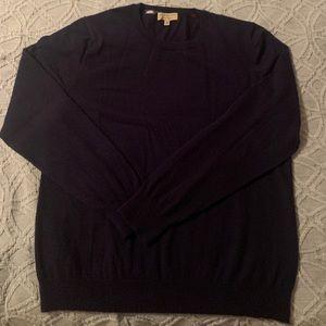 Burberry cashmere sweater men's XXL